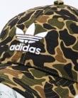 Adidas Originals Camo Baseball Cap Dark Sahara