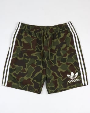 Adidas Originals Camo Shorts Green
