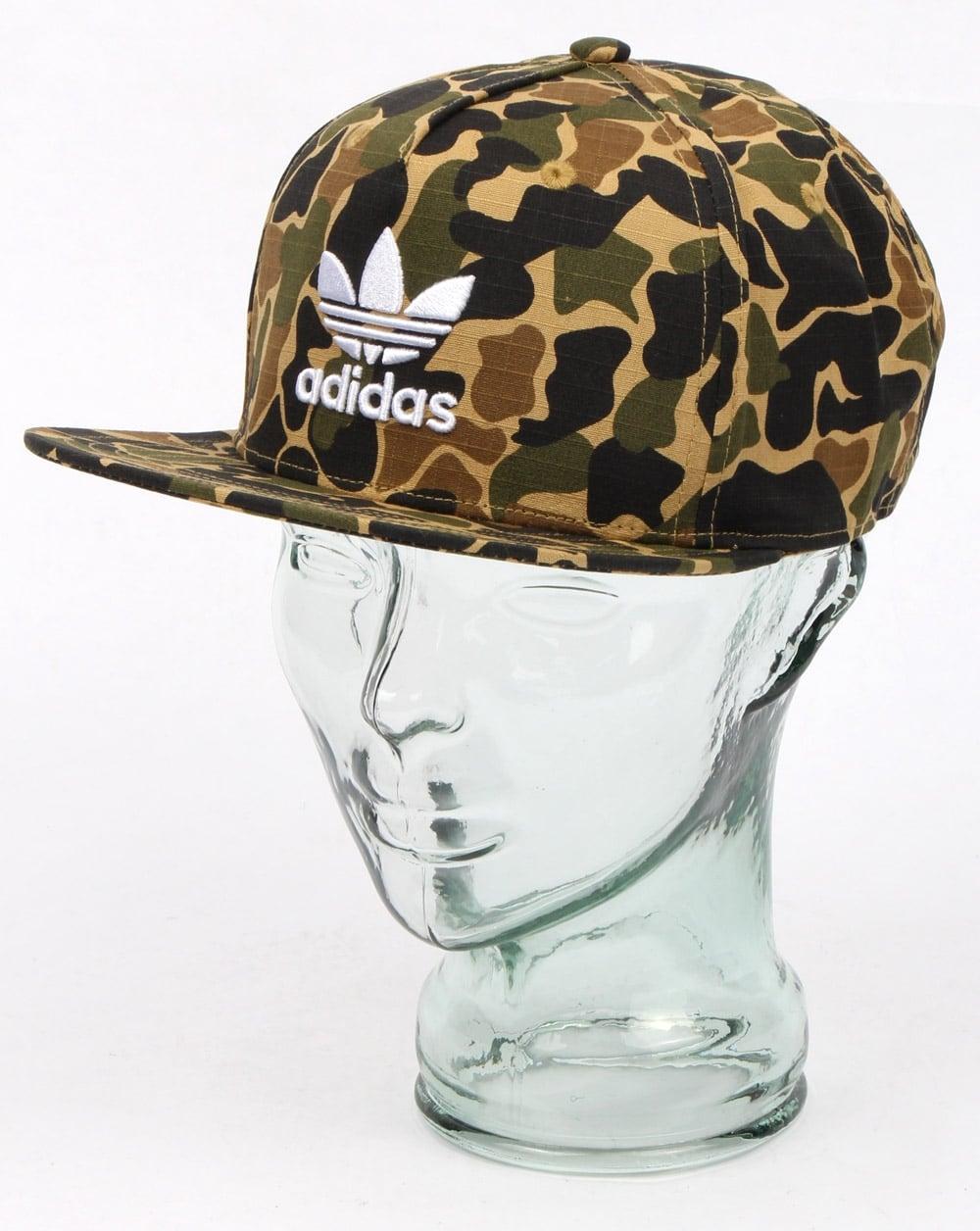 589d6cc2e6f adidas Originals Adidas Originals Camo Snapback Cap Dark Sahara