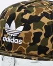 Adidas Originals Camo Snapback Cap Dark Sahara