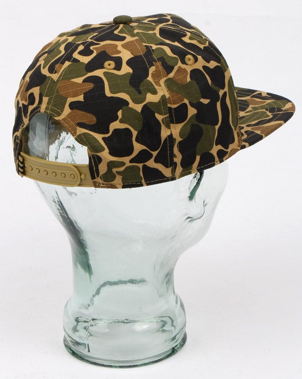 Adidas Originals Camo Snapback Cap Dark Sahara Mens Hat Adjustable