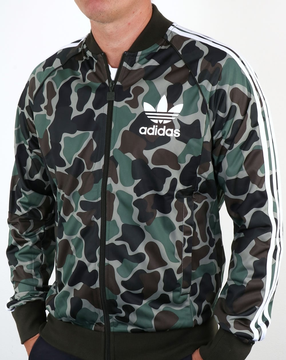 adidas originals camo superstar track top tracksuit jacket mens. Black Bedroom Furniture Sets. Home Design Ideas