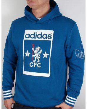 Adidas Originals Chelsea FC Hoody Dark Royal Blue