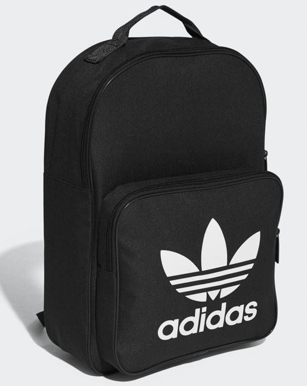 Adidas Originals Classic Trefoil Backpack Black Padded