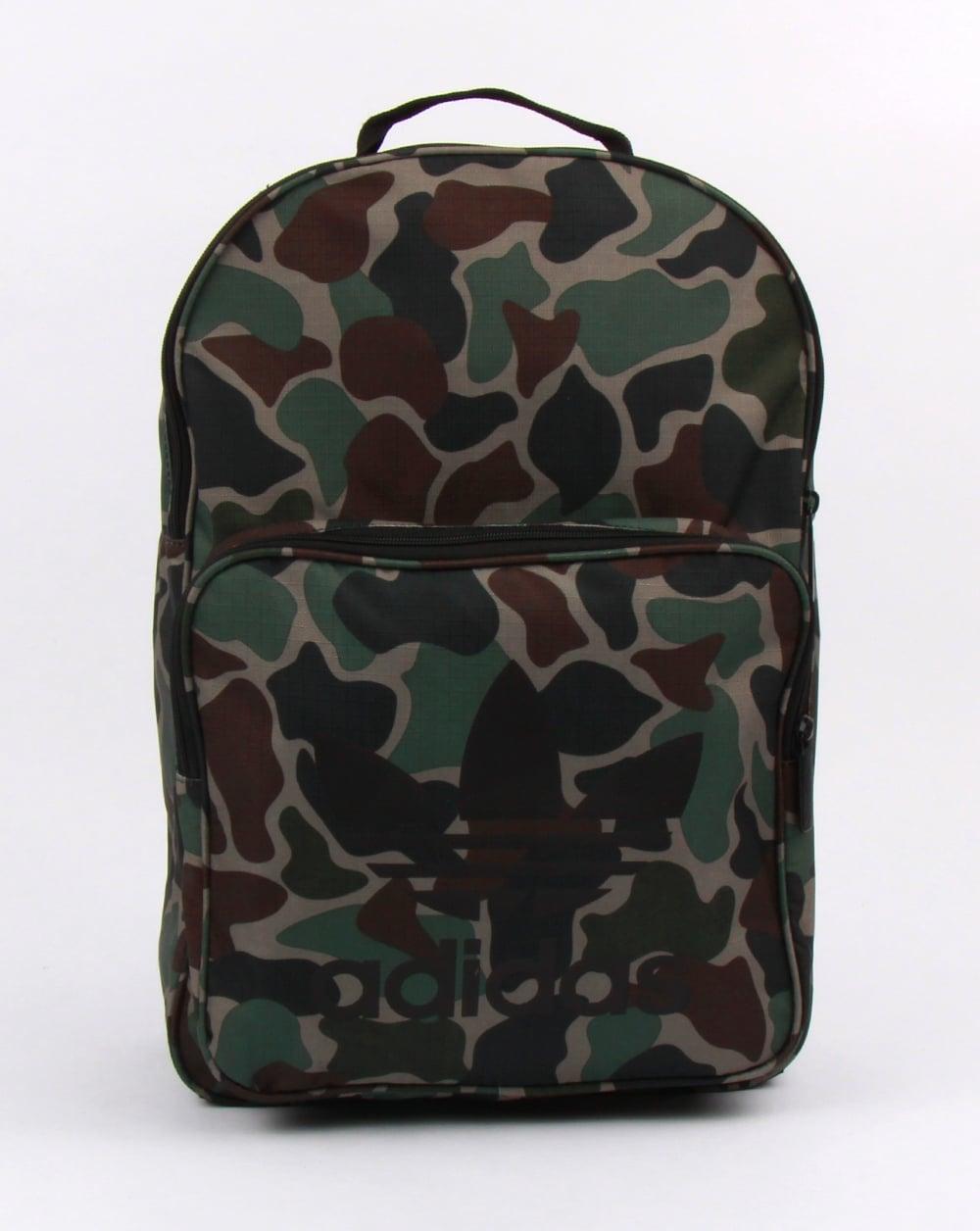 adidas Originals Adidas Originals Classic Backpack Camo c909987364eb3