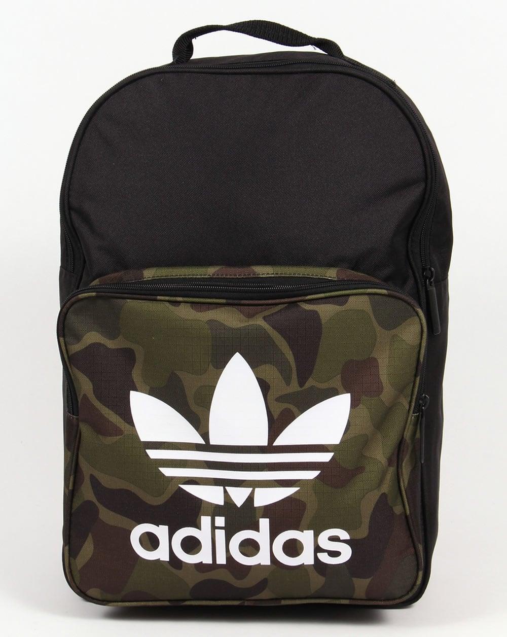 3f4201b5d6 adidas Originals Adidas Originals Classic Camo Backpack Black