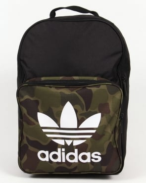 Adidas Originals Classic Camo Backpack Black