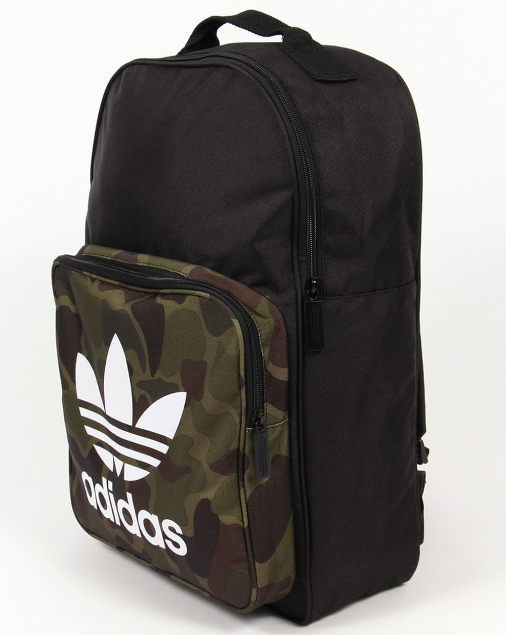 pre order better factory outlets Adidas Originals Classic Camo Backpack Black