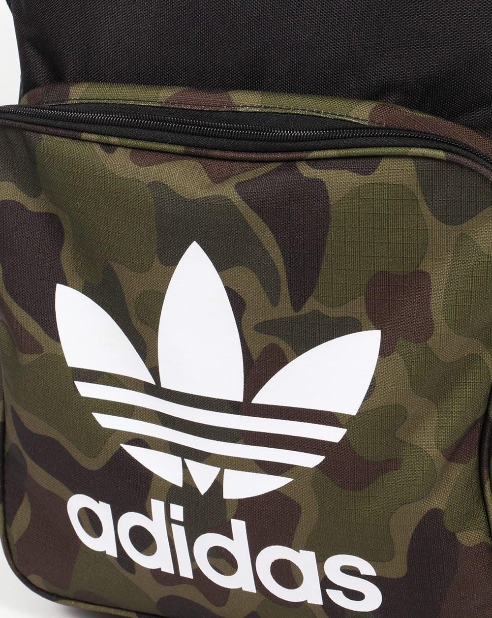 Adidas Originals Classic Camo Backpack Black ee5a266ec0349