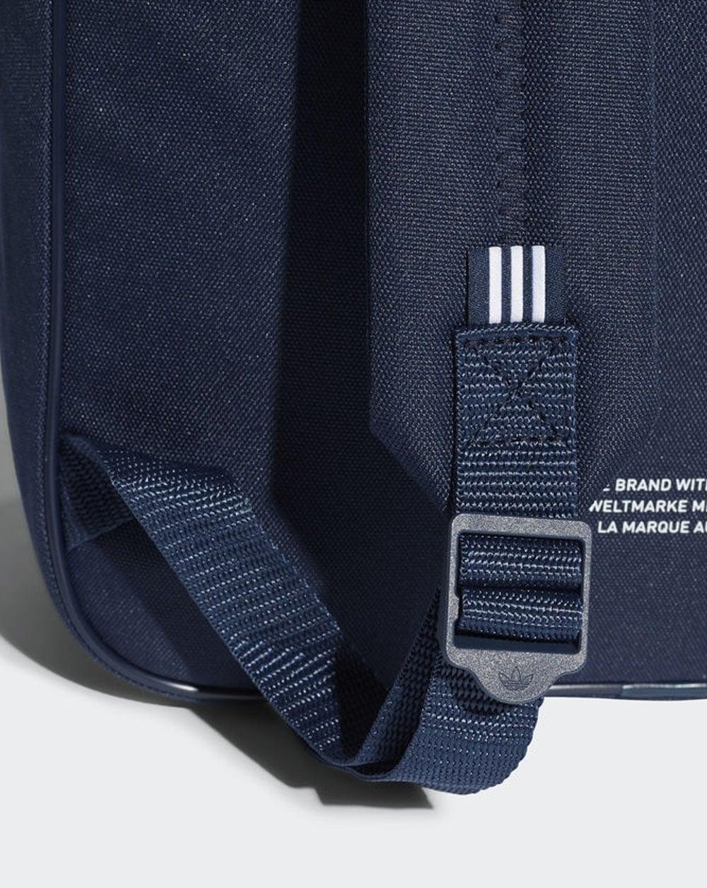 f8ec5939d76a Adidas Originals Classic Trefoil Backpack Navy