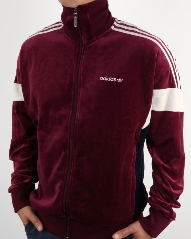 Adidas Originals Clr84 Track Top Maroon Tracksuit Jacket