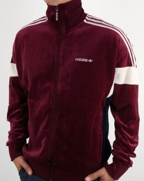 Adidas Originals Clr84 Track Top Maroon