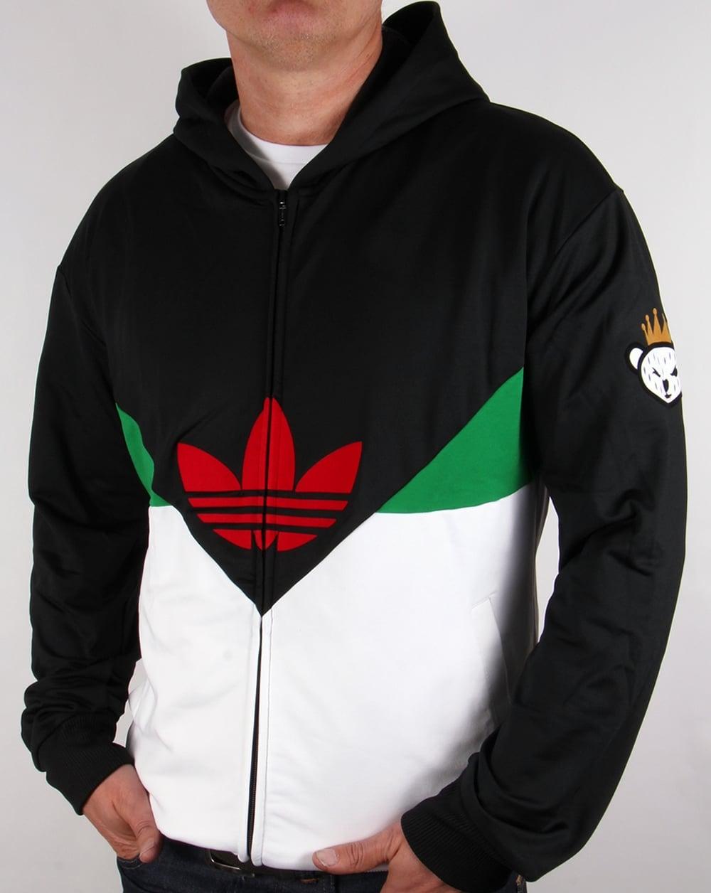 Adidas Originals Colorado Full Zip Hoody Black Track Top