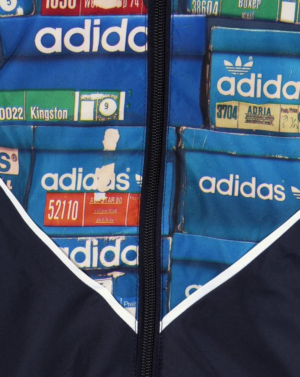 Adidas Originals Colorado Shoebox Windbreaker Blue Jacket Mens