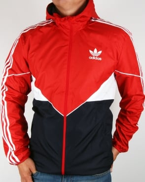 Adidas Originals Colorado Windbreaker Red/Navy