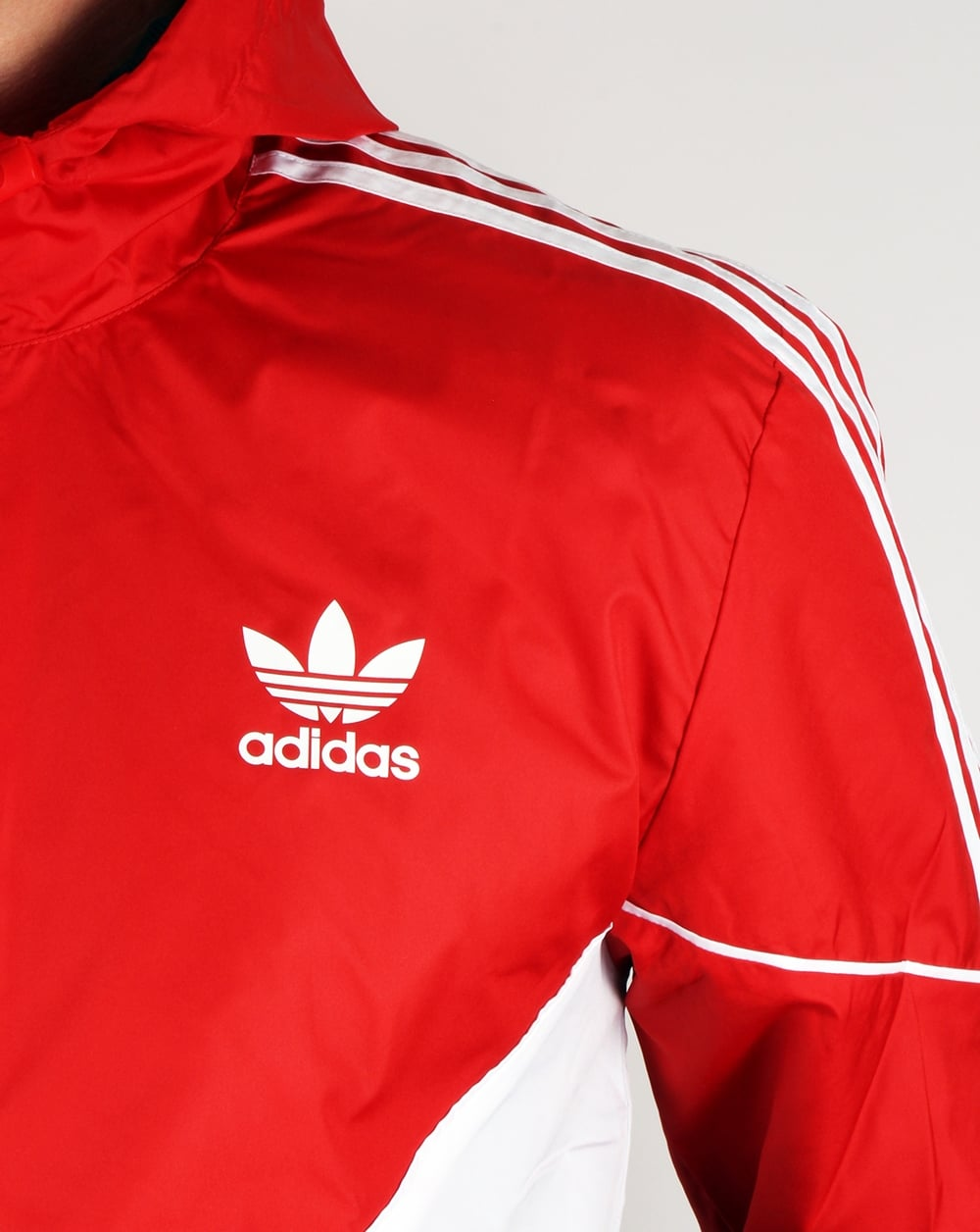Adidas Originals Colorado Windbreaker Red Navy Jacket Coat Mens
