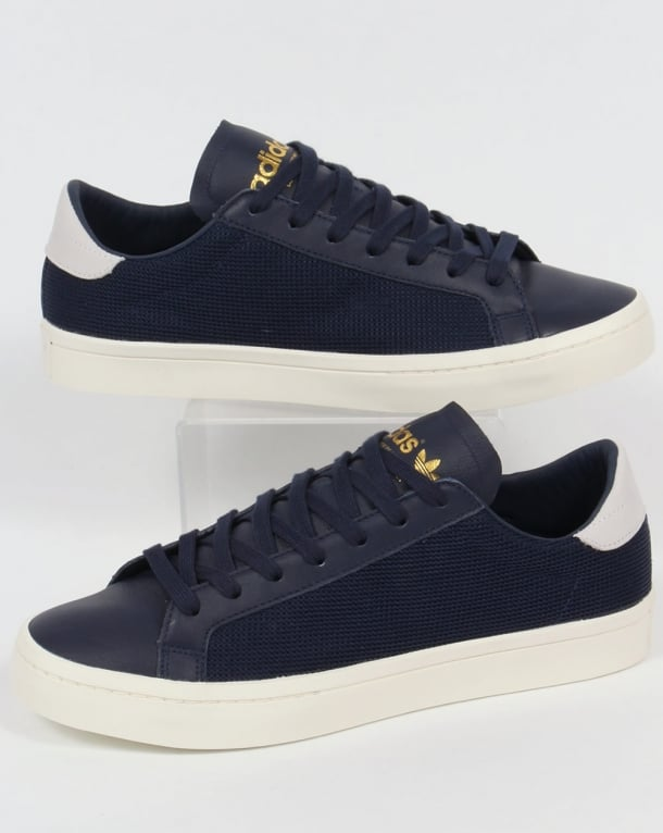 Adidas Originals Court Vantage Trainers Navy