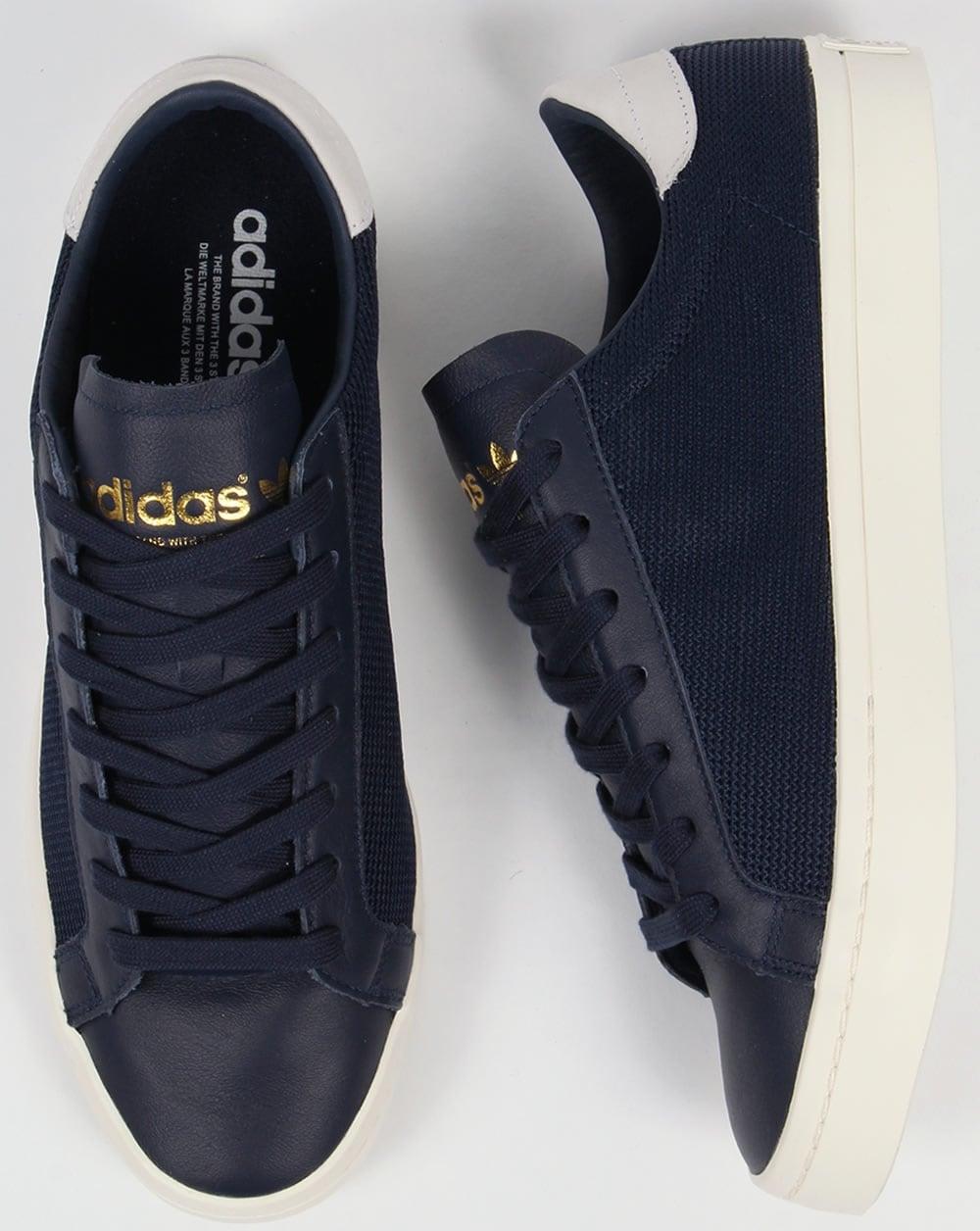 Blue Adidas Adidas Trace Blue Court Court Vantage Vantage Trace Court Adidas 4aqxHx75w