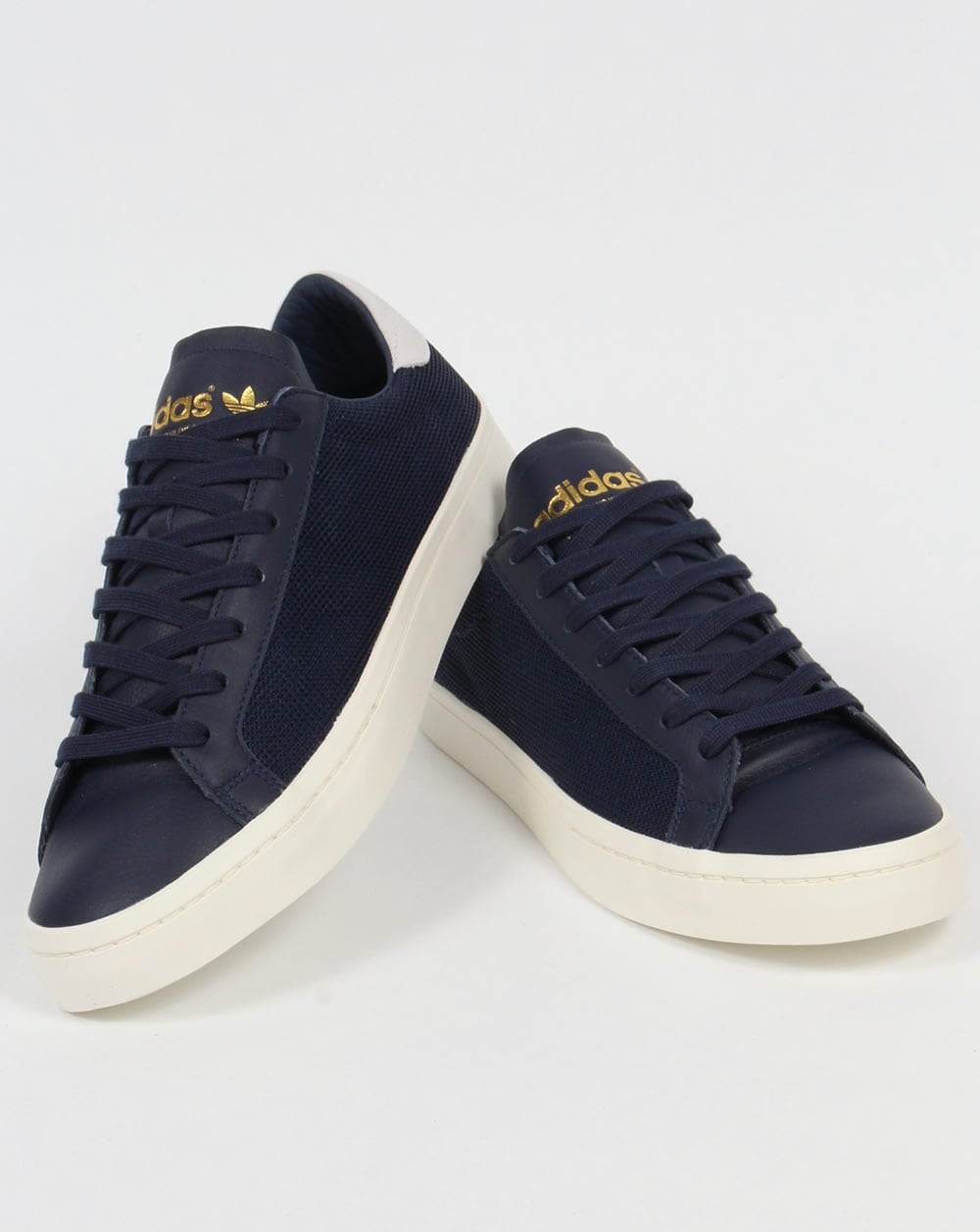 Adidas Originals Court Vantage Trainers Navy,shoes,low top ... Caterpillar Shoes
