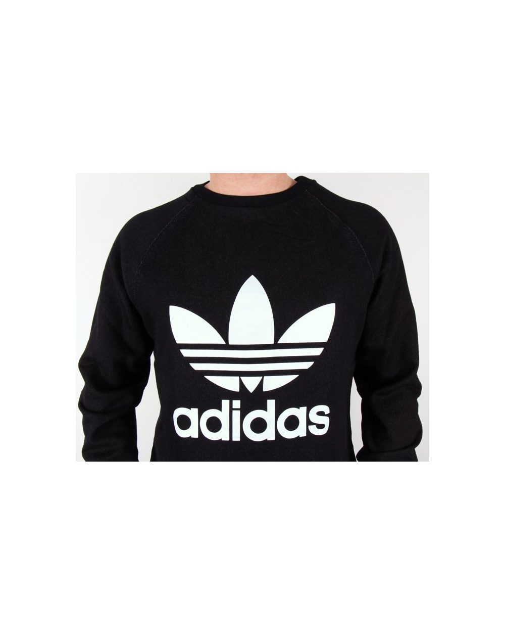 Adidas Sweatshirt Black And White