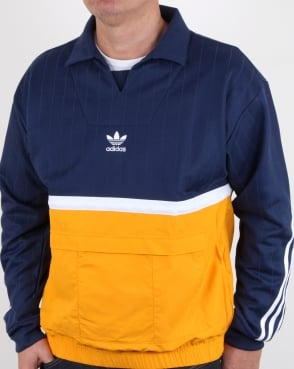 Adidas Originals Drill Pullover Noble Indigo/gold