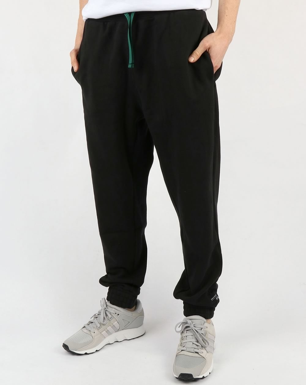 bdffe82bbebc adidas Originals Adidas Originals EQT Knit Track Bottoms Black