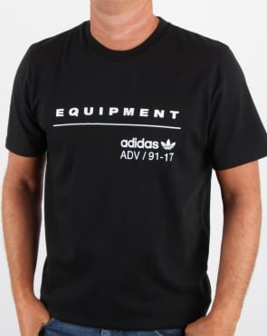 Adidas Originals EQT PDX Classic T Shirt Black/White