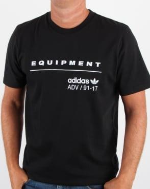 Adidas Originals EQT PDX Classic T Shirt Black/White