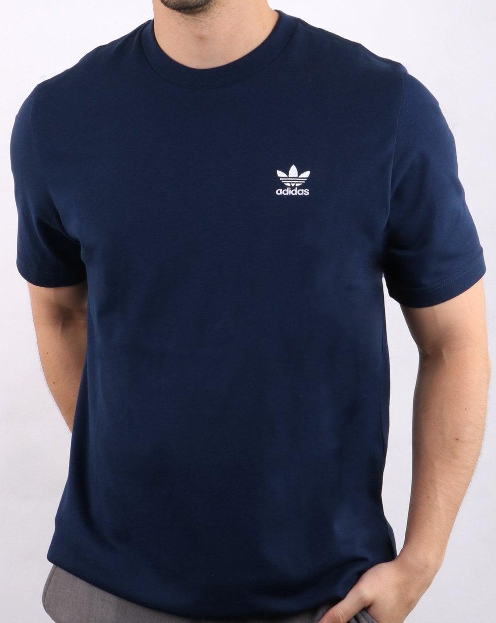 Adidas Originals Ess T Shirt Navy