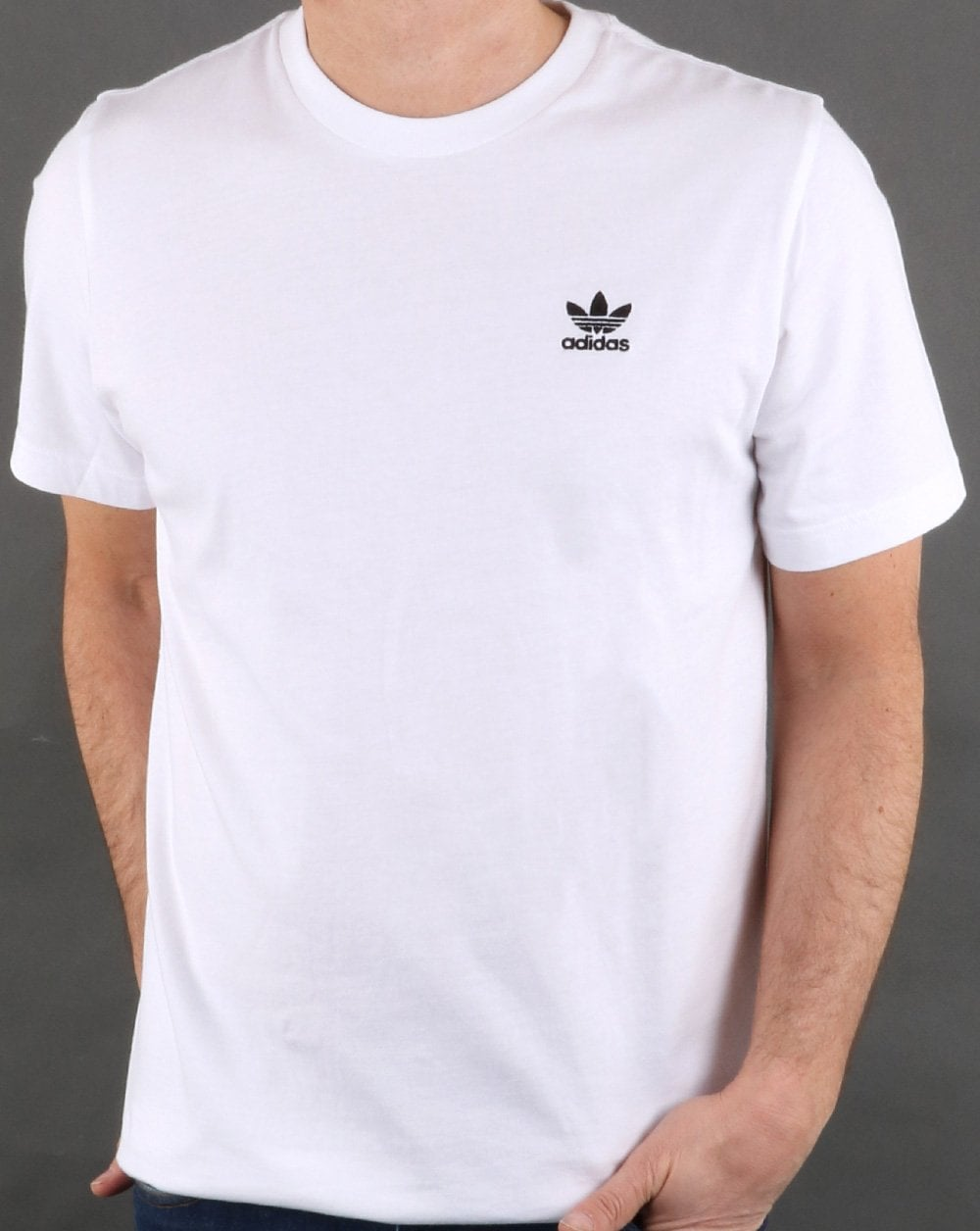 Adidas Originals Ess T Shirt White