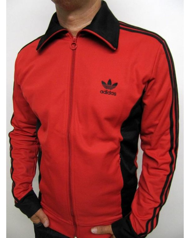 Adidas Originals Europa Track Top Red Navy Adidas