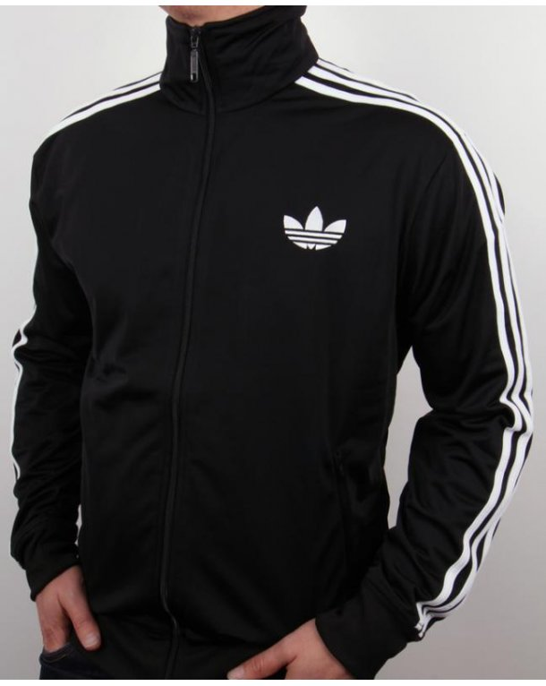 Adidas Originals Firebird Track Top Black/White