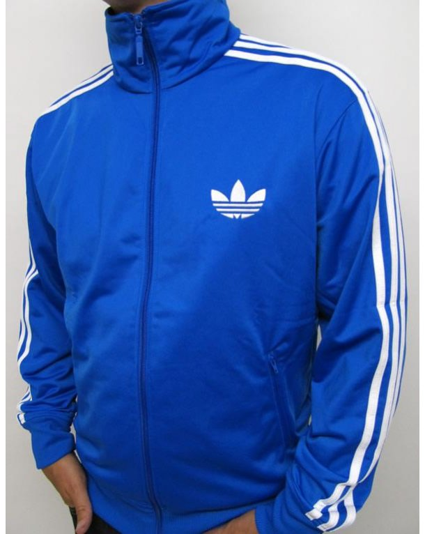 Adidas Originals Firebird Track Top Bluebird Blue/white