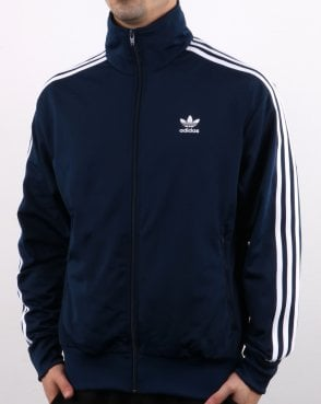 pretty nice a0d21 7975f Adidas Originals Firebird Track Top Navy