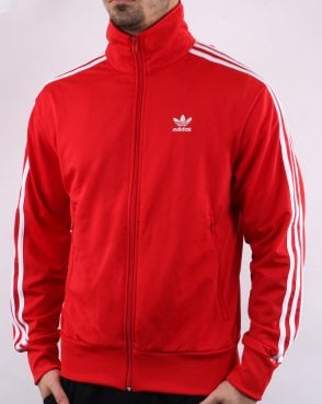 dc338a0f4dfc Adidas Originals Firebird Track Top Scarlet Red
