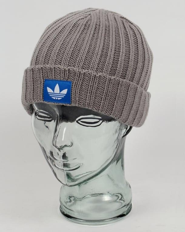 premium selection eb382 41fb7 Adidas Originals FM Trefoil Beanie Solid Grey