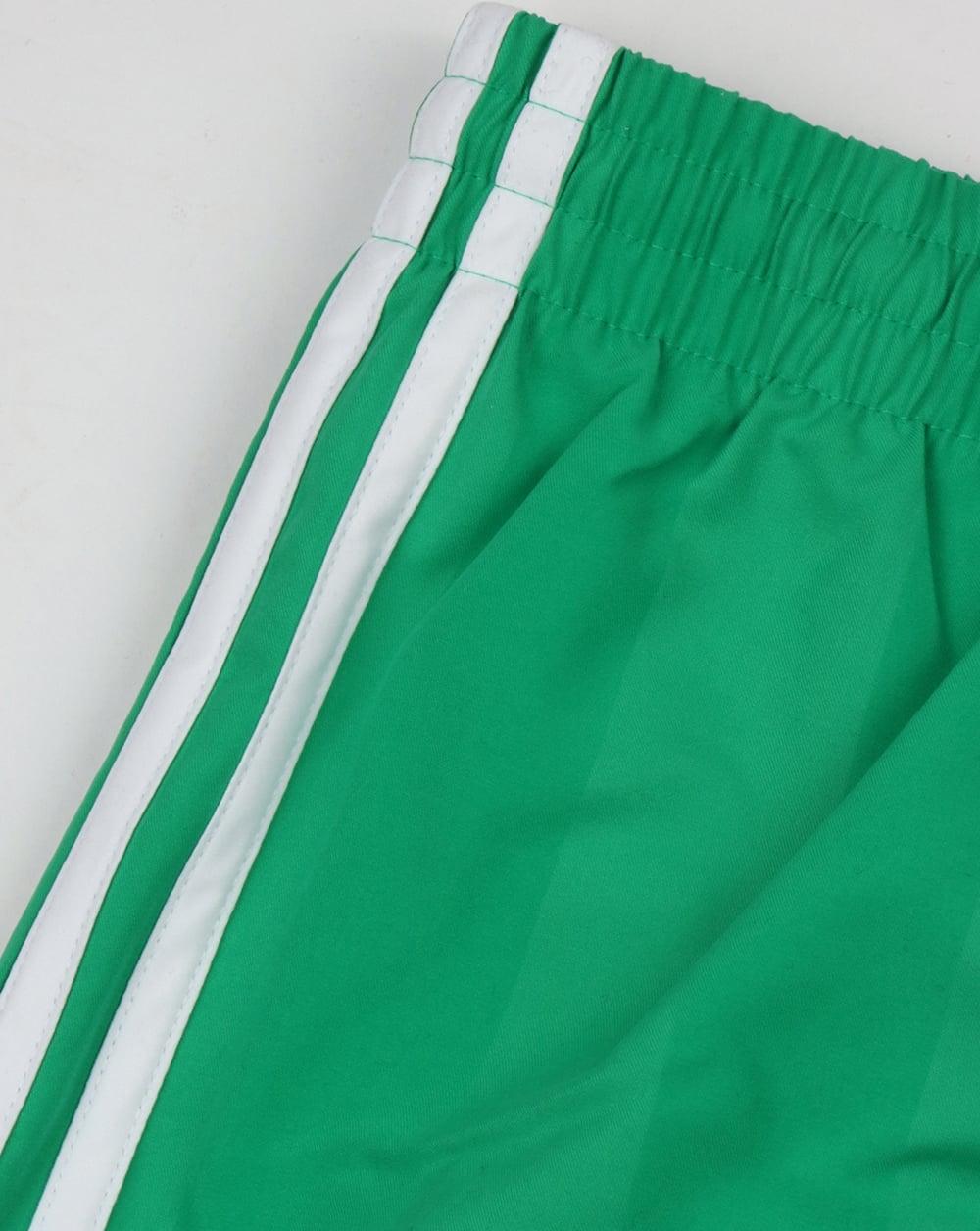 63f63b14f Adidas Originals Football Shorts Core Green,retro,shiny,polyester,mens