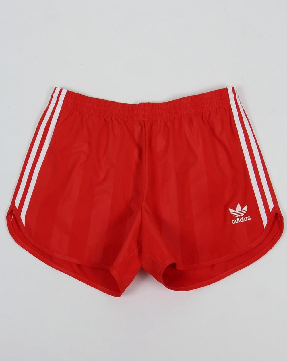 Adidas Originals Football Shorts Red - Adidas Originals from 80s ...