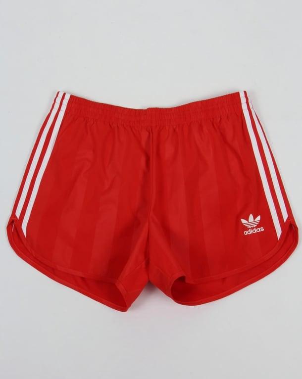 Adidas Originals Football Shorts Red