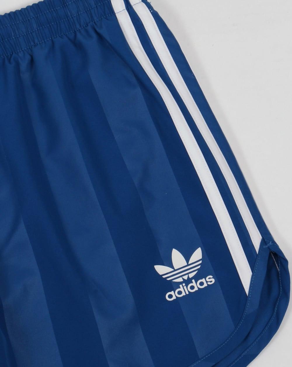 b8630d9575 Adidas Originals Football Shorts Royal Blue - eqt - Shorts from 80s ...