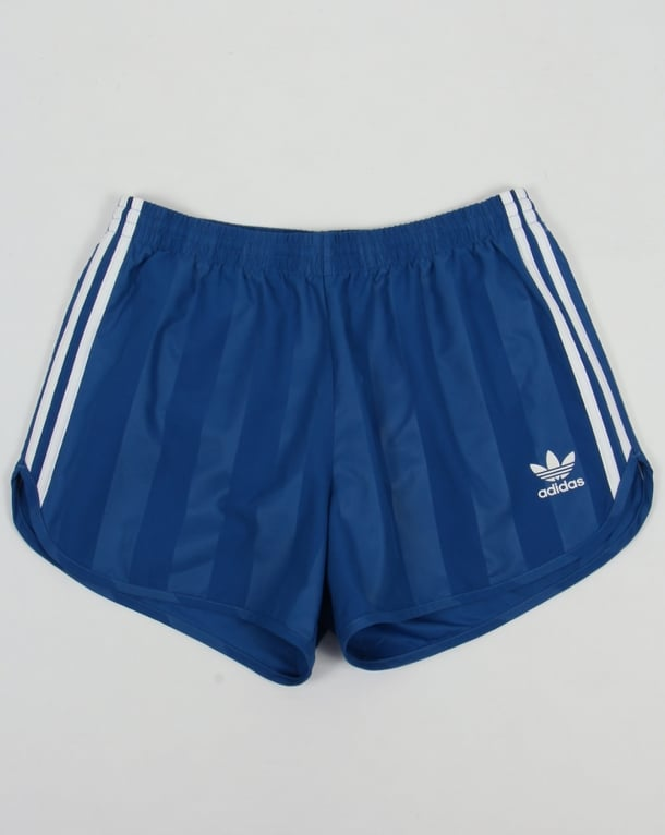 Royal Blue Short Shorts