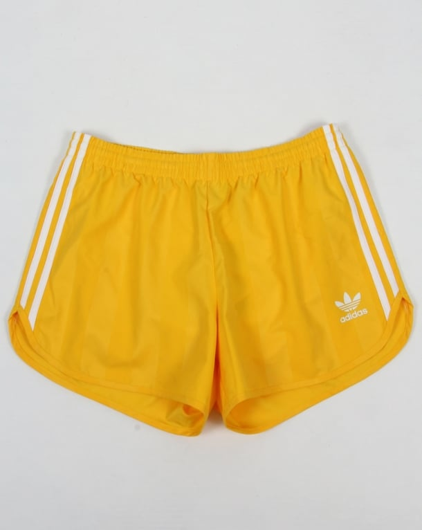 Adidas Originals Football Shorts Yellow