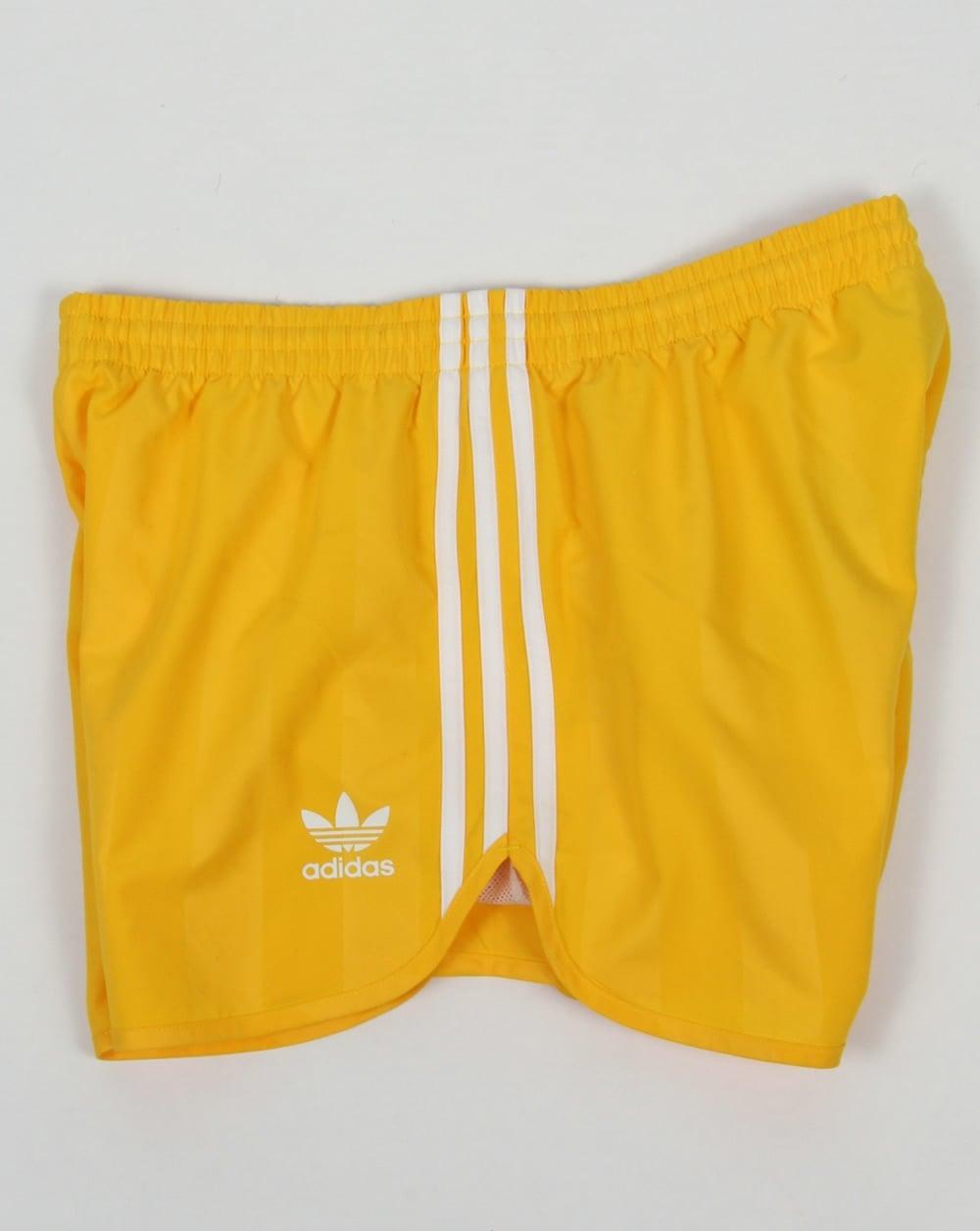 Adidas Originals Football Shorts Yellow