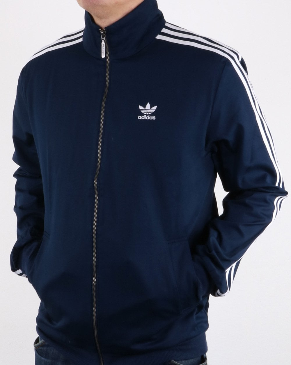 Buy Here Pay Here Ma >> Adidas Originals Beckenbauer Track Top Navy | 80s casual ...