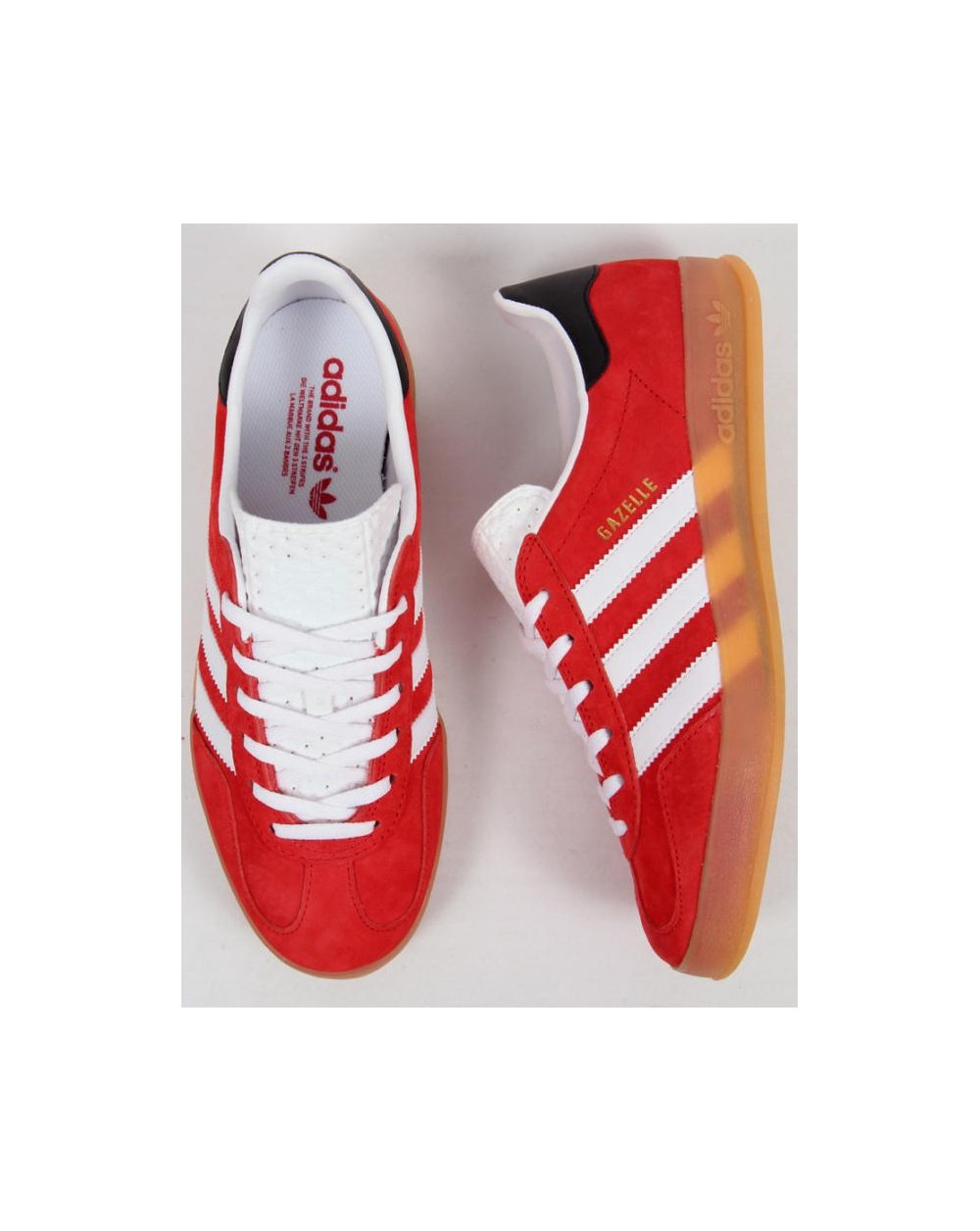 Adidas Gazelle Indoor Black And Red