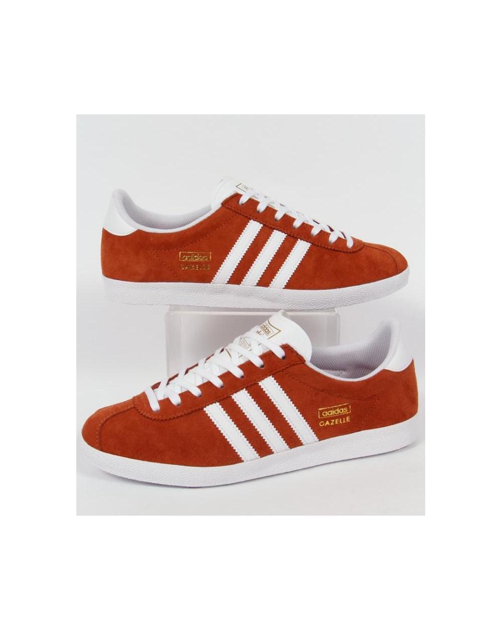 red adidas originals trainers