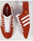 Adidas Originals Gazelle Og Trainers Fox Red/White