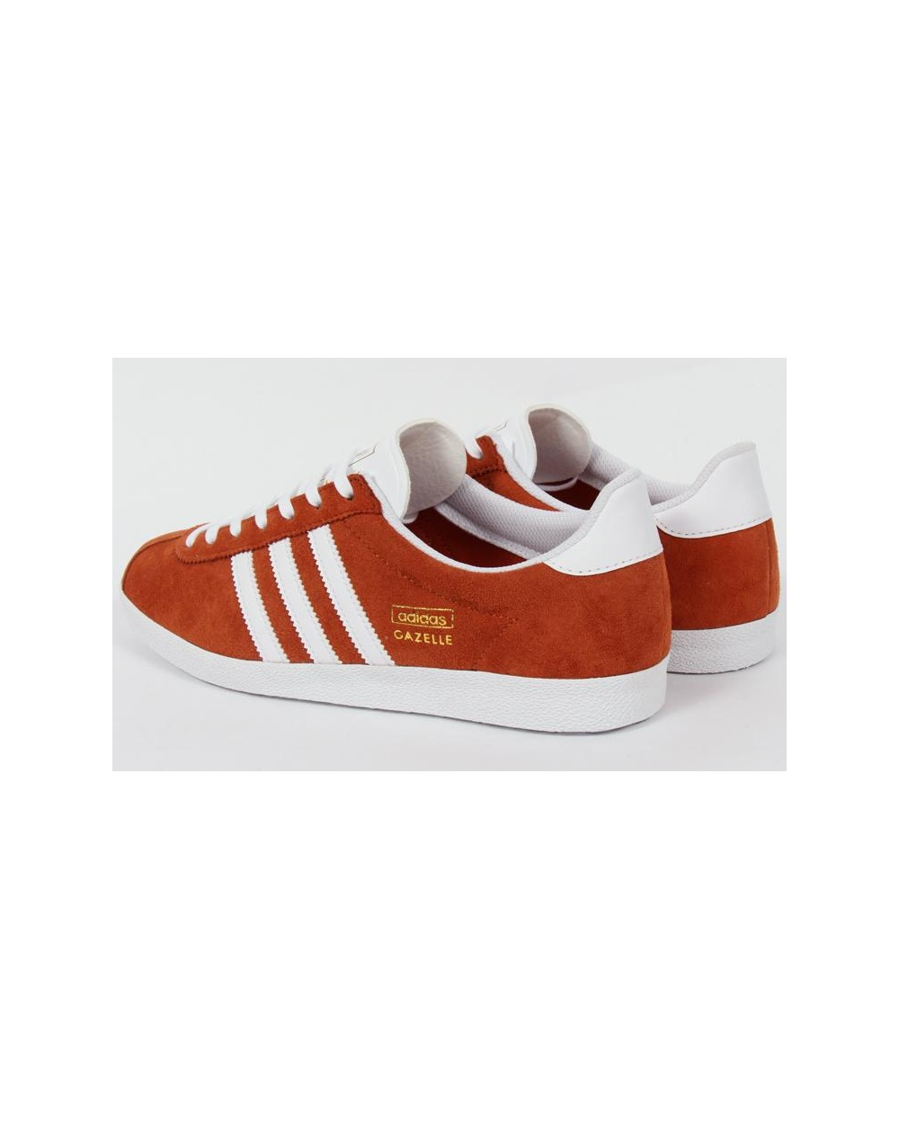 Adidas Originals Originals Top Ten Low Sneaker In Black: Adidas Originals Gazelle Og Trainers Fox Red/White, Originals