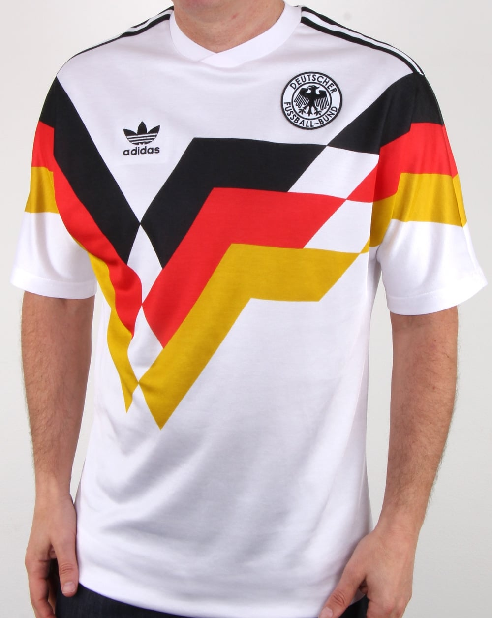 ADIDAS ORIGINALS GERMANY HOME JERSEY FIFA WORLD CUP 1990.