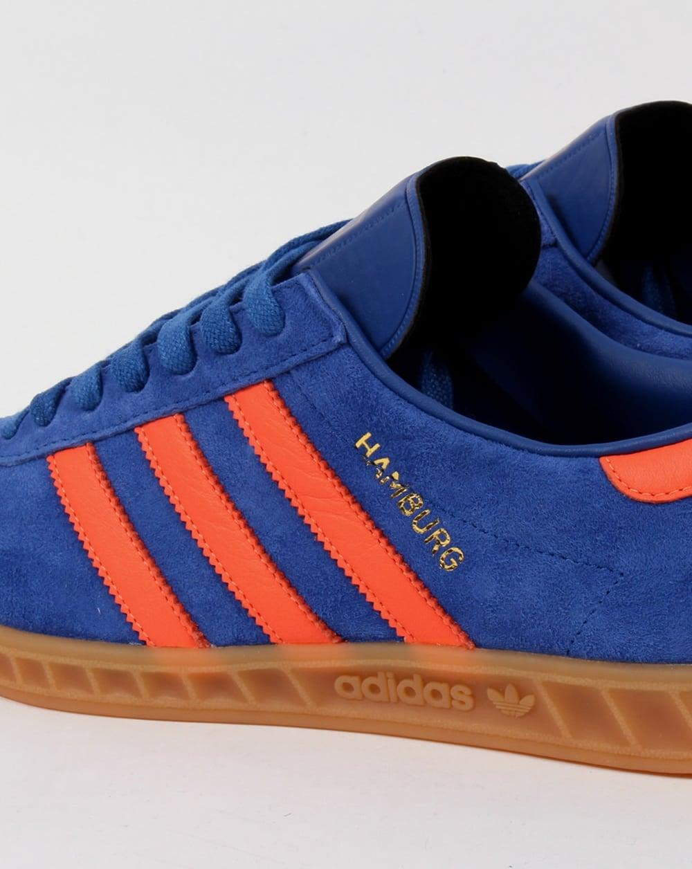 Adidas Originals Top Ten Hi Rare Sneakers New Brown: Adidas Trainers Adidas Originals Hamburg Trainers Royal